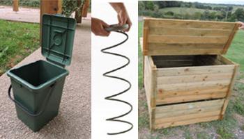 Vente de composteur en bois