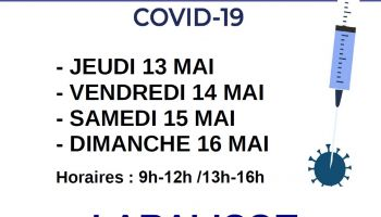 VACCINATION COVID-19 A LAPALISSE